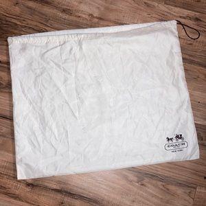 """Coach Silky Purse bag 19""""x23.5"""""""